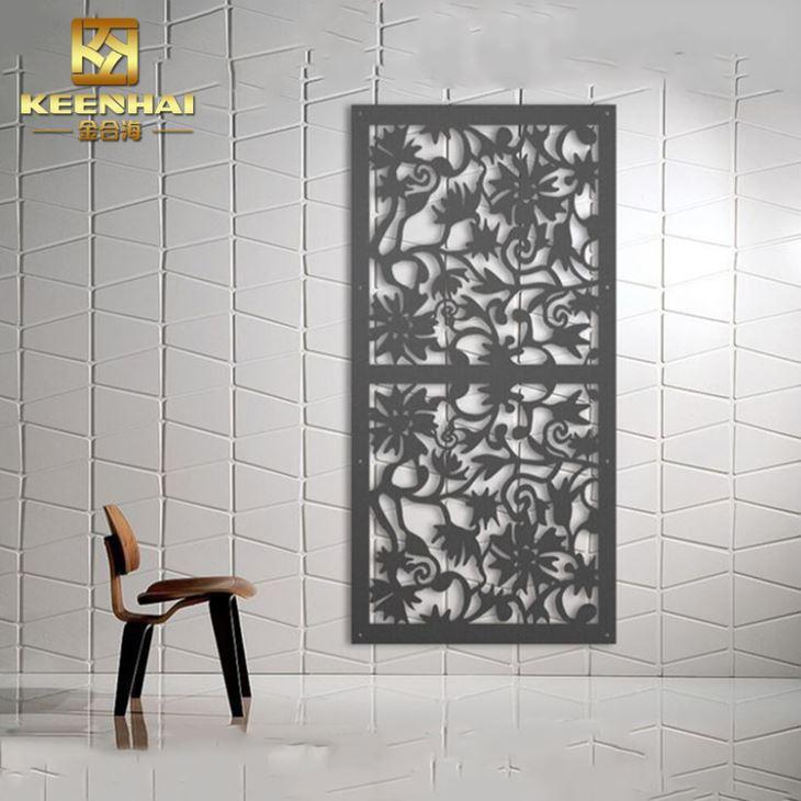 Dekorativa väggpaneler av metall