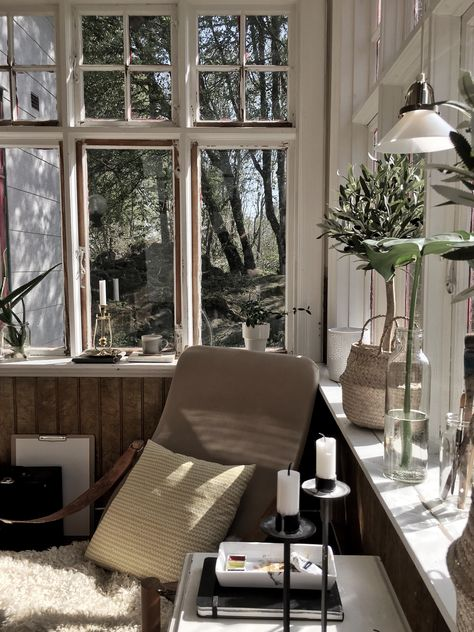 Dekorera ditt hem med naturligt lövverk
