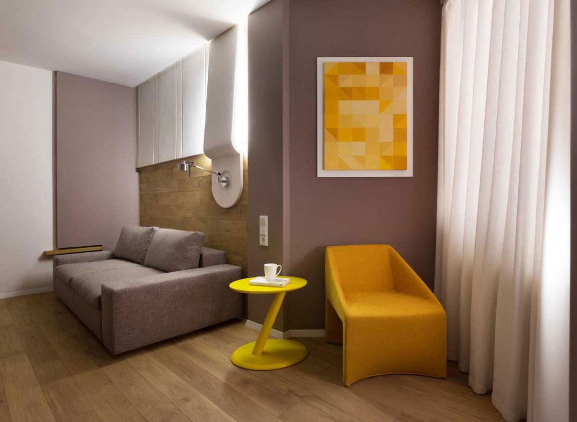 Den futuristiska lägenheten som Denis Rakaev skapade – Moon Box