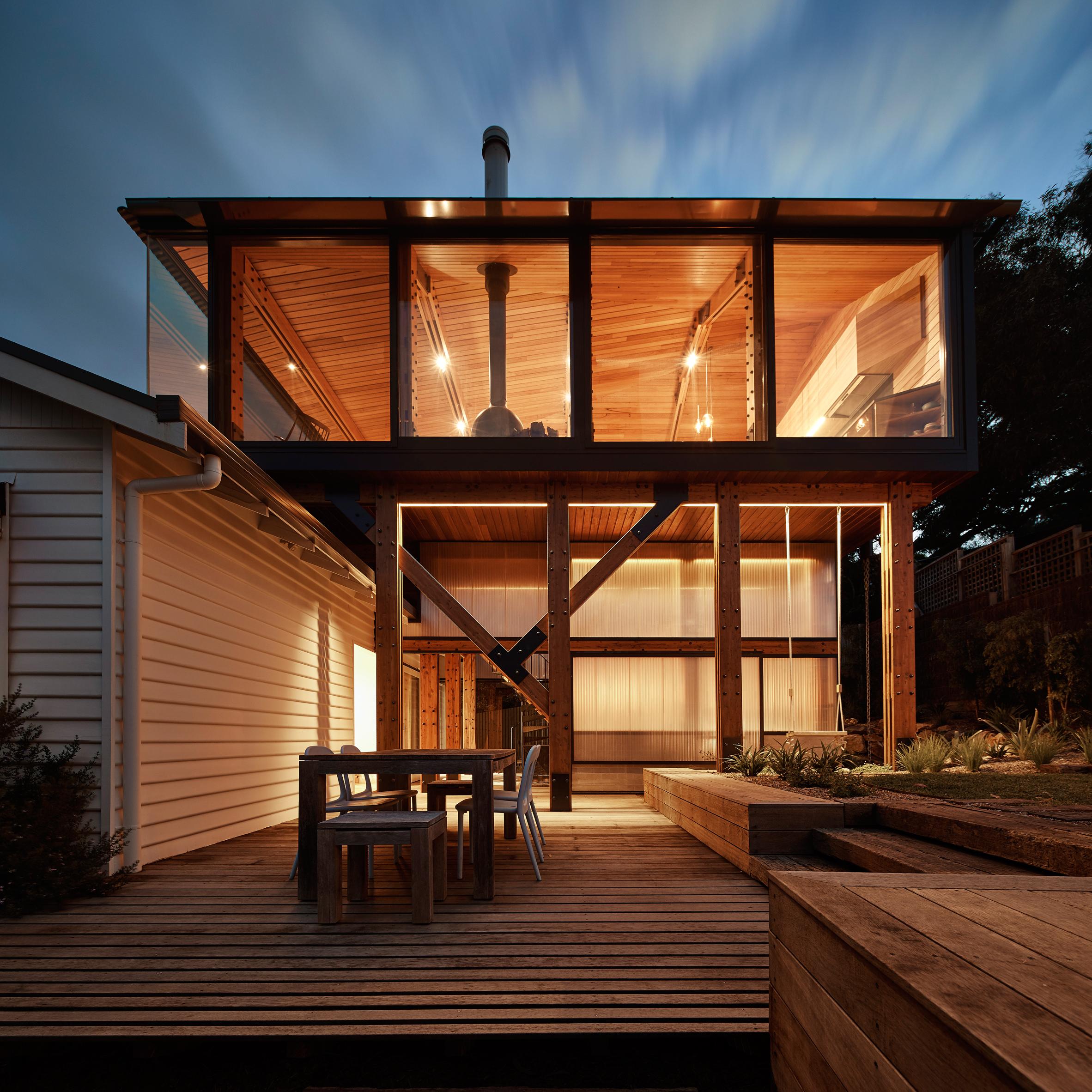 Den imponerande Austin-stugan, designad av Walton Architecture