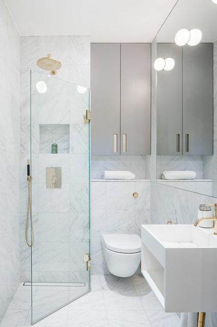 Designa ett litet badrum – idéer och tips