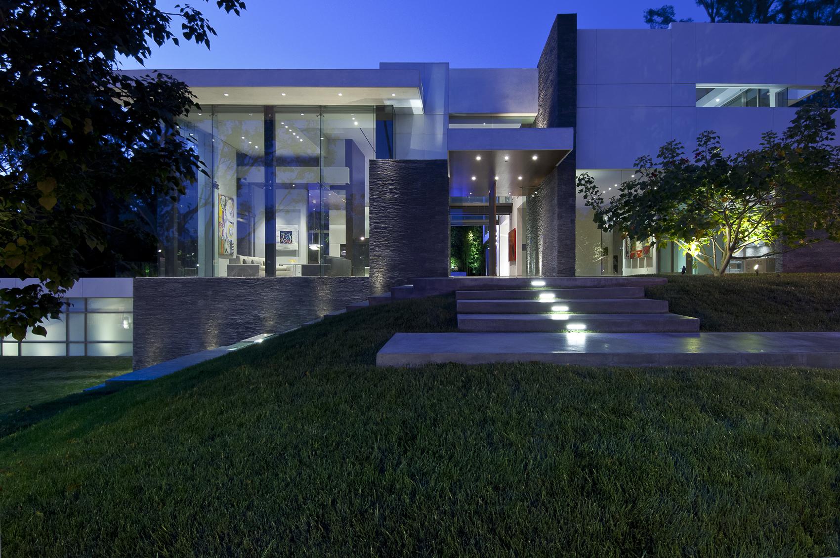 Det utsökta Summit House av Whipple Russell Architects