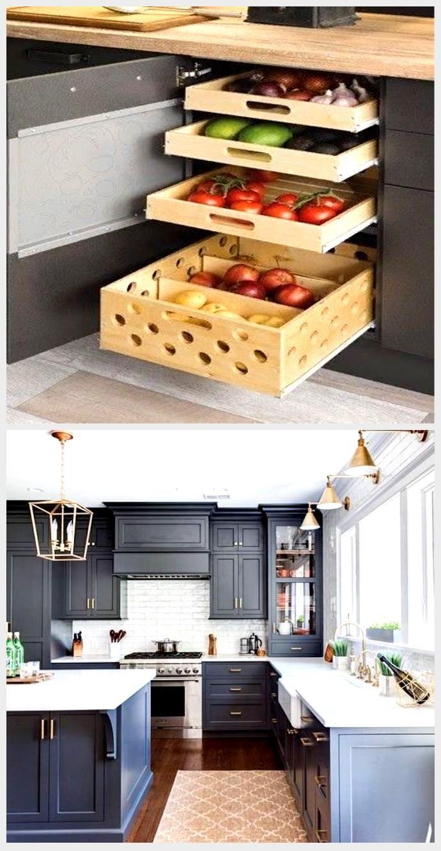 DIY köksskåp idéer