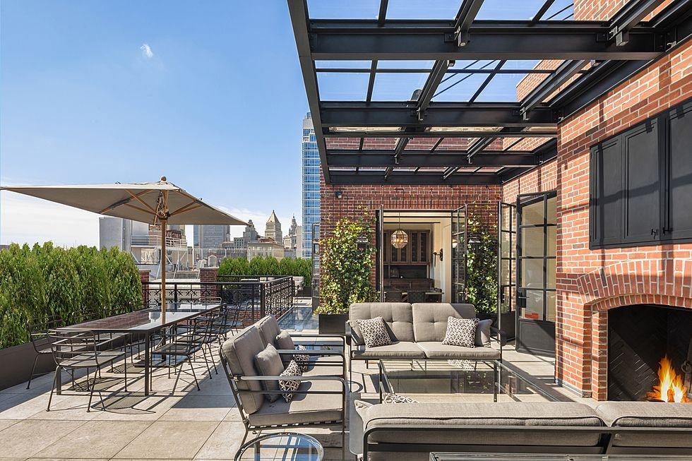 Elegant takvåning i Soho, New York City