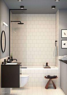 En samling bra idéer för att designa ditt badrum