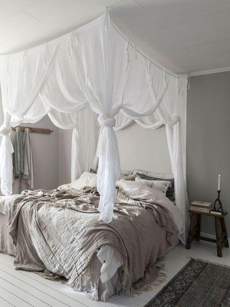 En samling exempel på stora sovrumsinteriörer