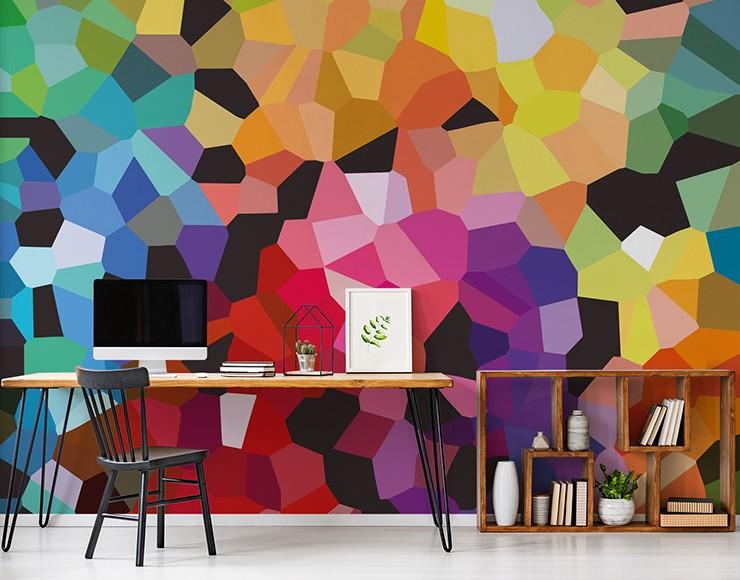 En samling färgglada och moderna sovrumsdesigner