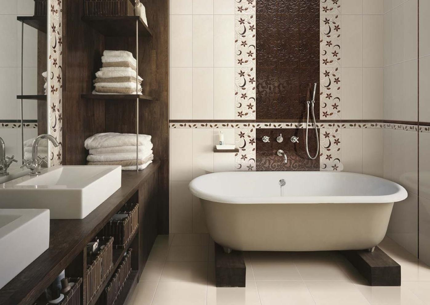 En samling idéer till badrumsplattor