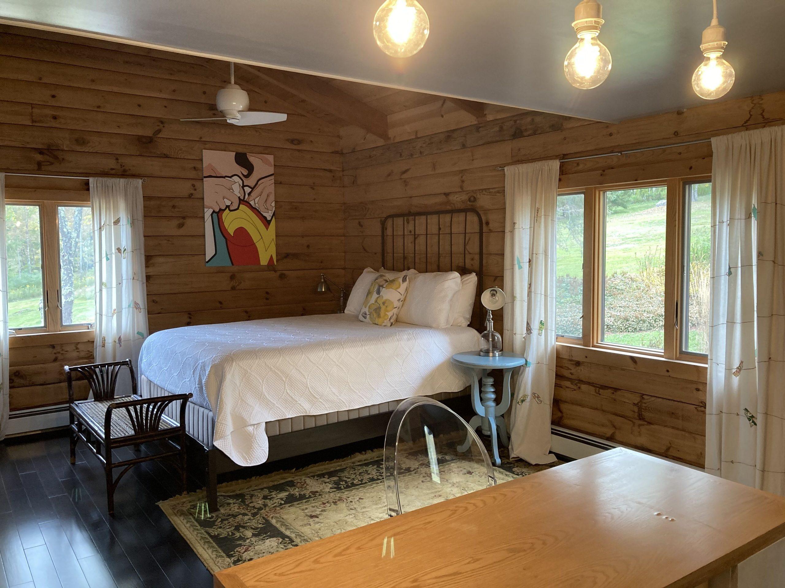 En samling sovrum med fantastisk utsikt
