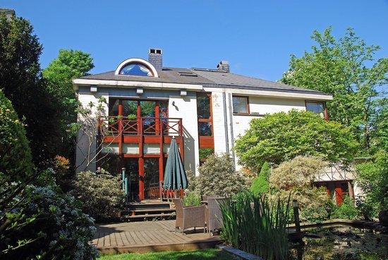 Ett vackert och rymligt belgiskt hus i Uccle