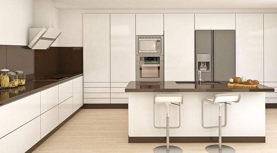 Exempel på hur kökets interiör ska se ut