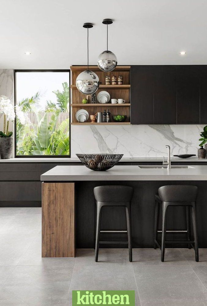 Exempel på modern köksdesign som inspirerar dig