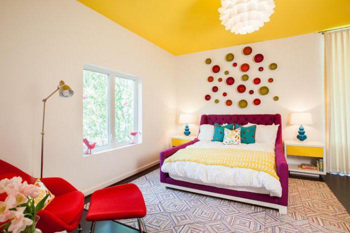 Exempel på rum designade och dekorerade med gult
