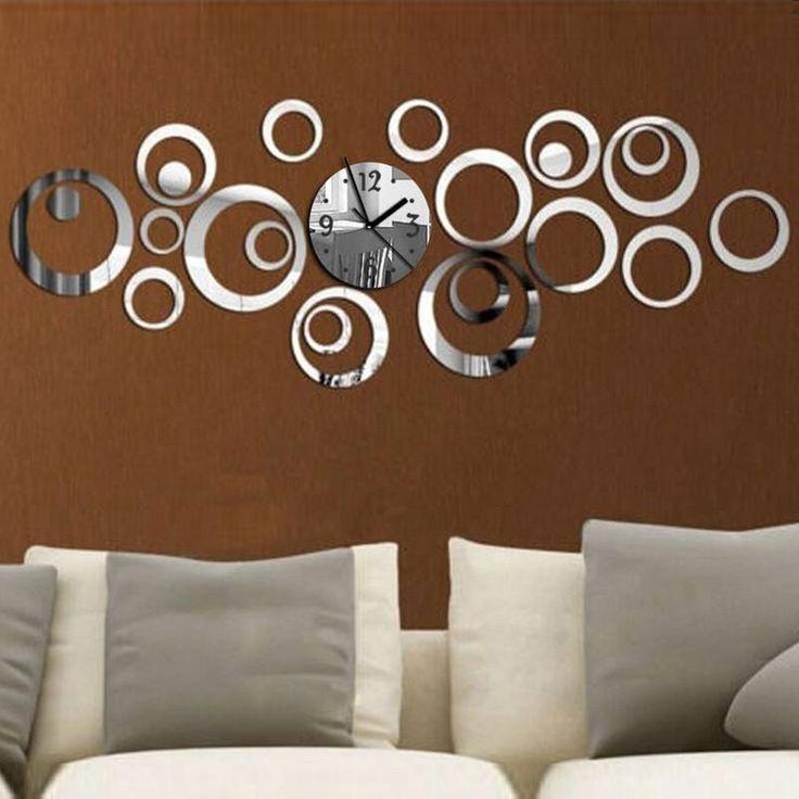 Extra stora dekorativa väggur