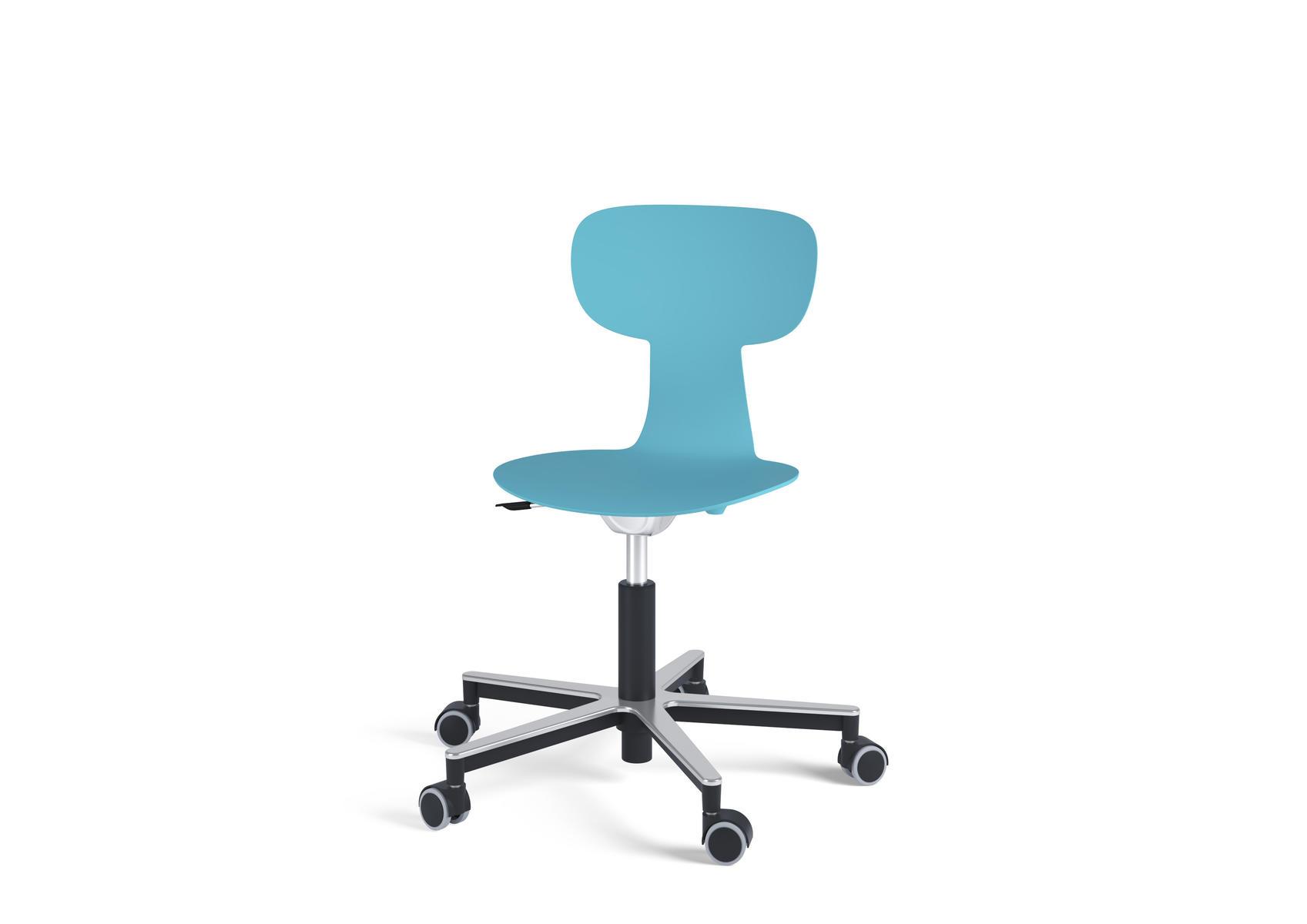 Fåfänga stol med hjul