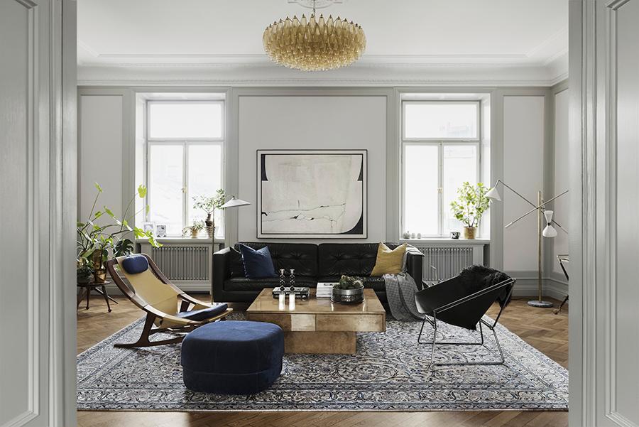 Fantastiska bilder av vardagsrum med intressant inredning