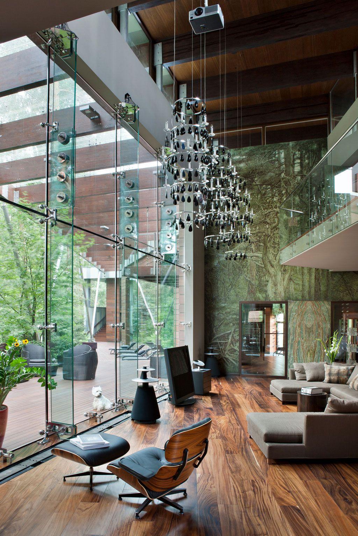 Fantastiskt Moskva hus designat av Olga Freiman