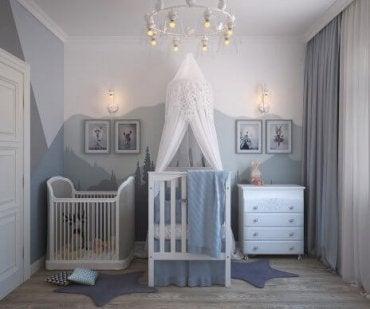 Färgpsykologi för babyrum