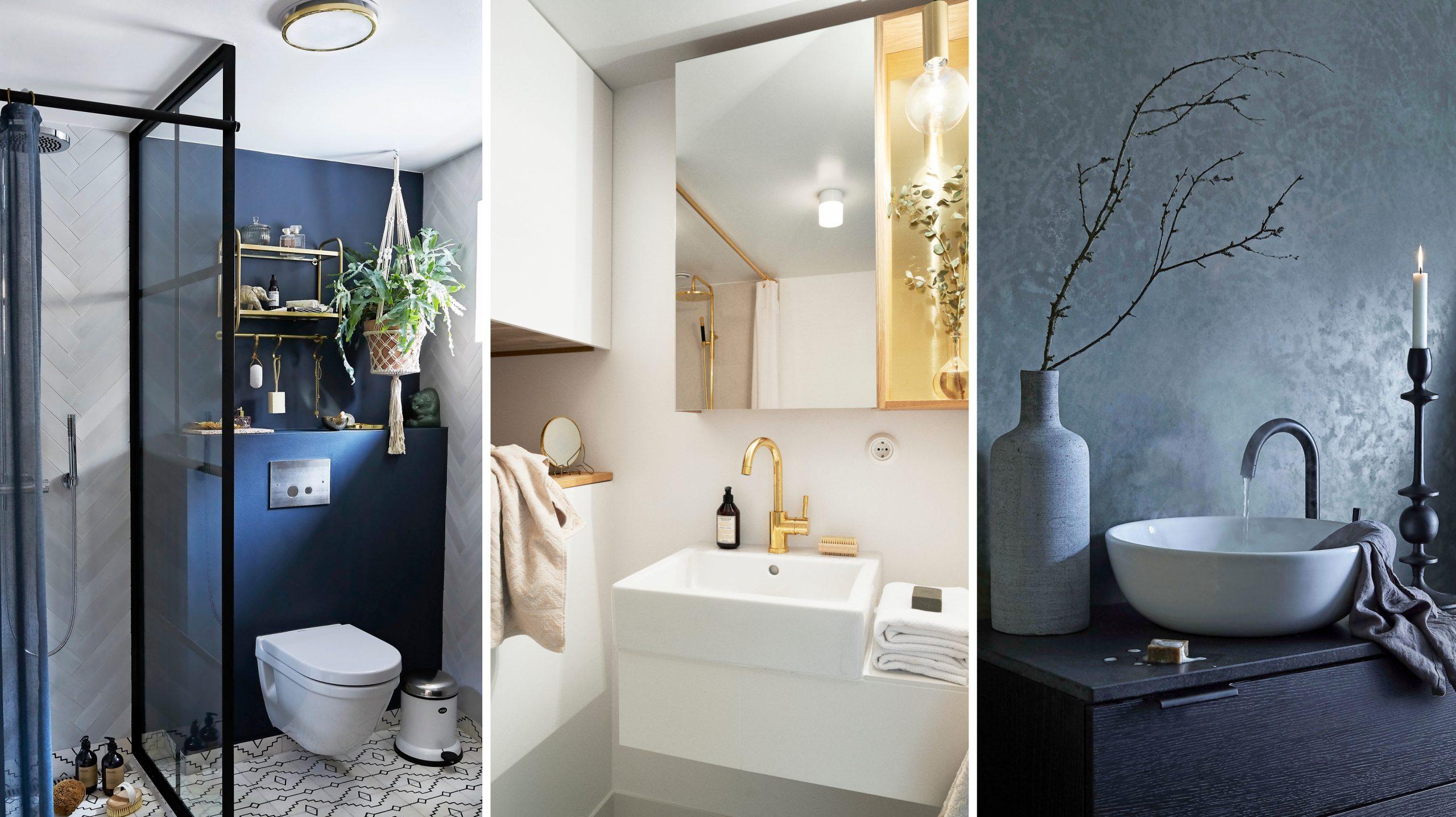 Fina idéer för att dekorera ett badrum