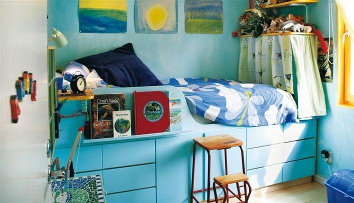 Fristående Murphy-säng