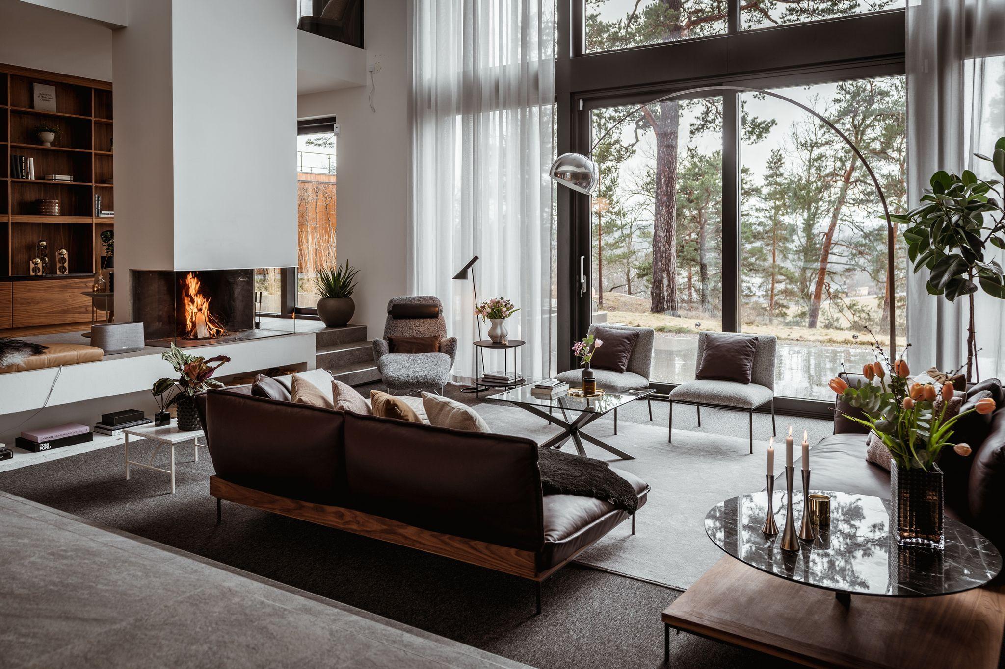 Futuristiska husdesigner: möbler och heminredning