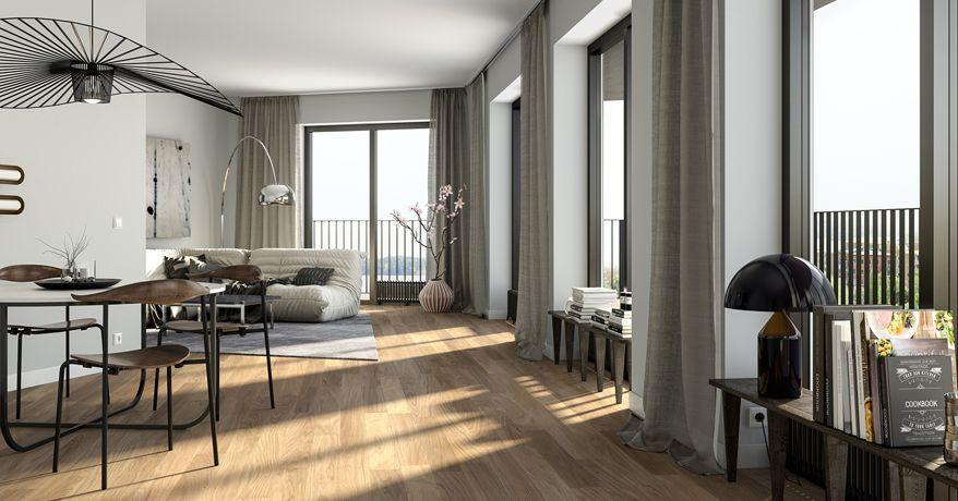 Golv till tak fönster designidéer