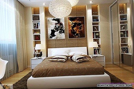 Häftiga sovrum med modern design som använder varje tum utrymme