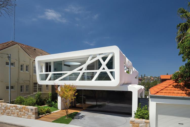 Hewlett Street House i Bronte, Australien Designad av MPR Design