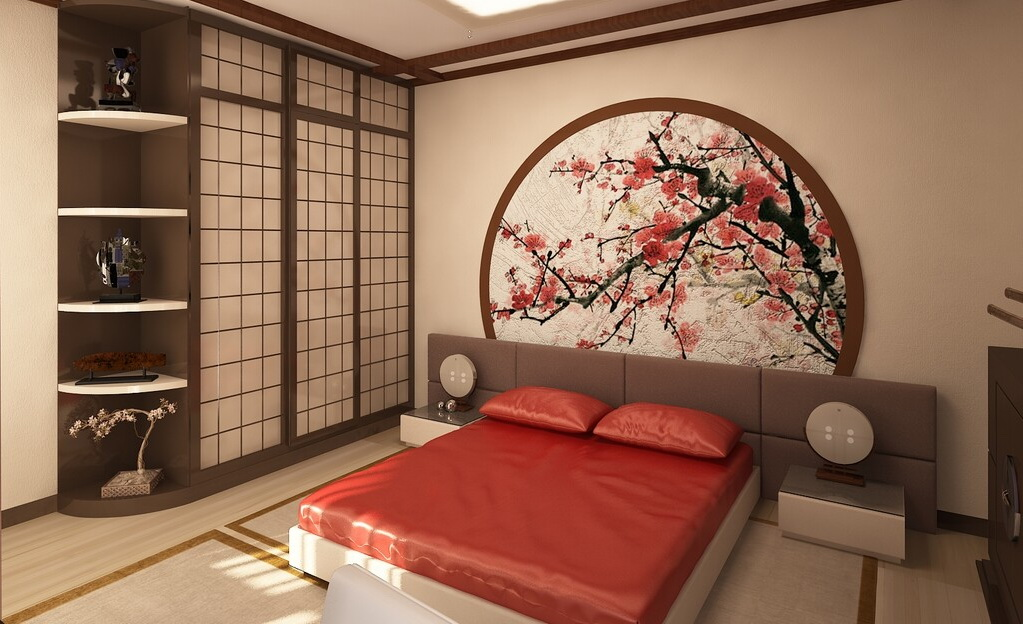 Hur man designar ett japanskt sovrum