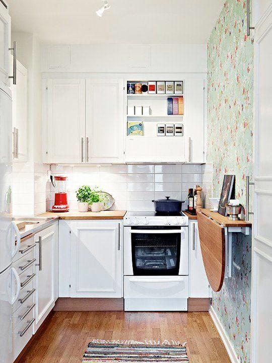 Hur man maximerar utrymmet i ett litet kök