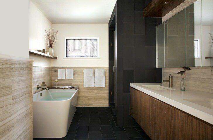Huvudsaklig badrumsinredning som hjälper dig att skapa något fantastiskt