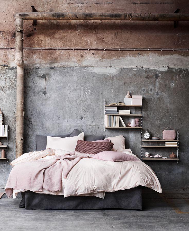 Idéer för att designa ditt sovrum i industriell stil