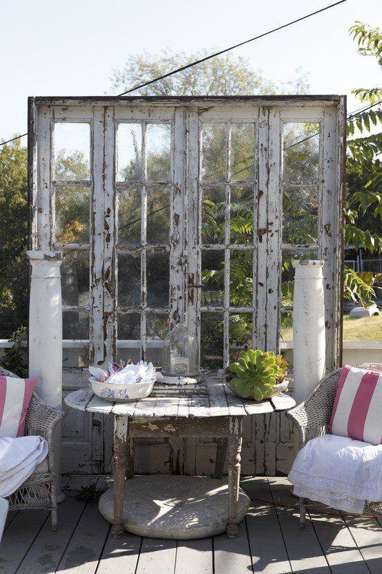 Idéer för att skapa ett vardagsrum utomhus