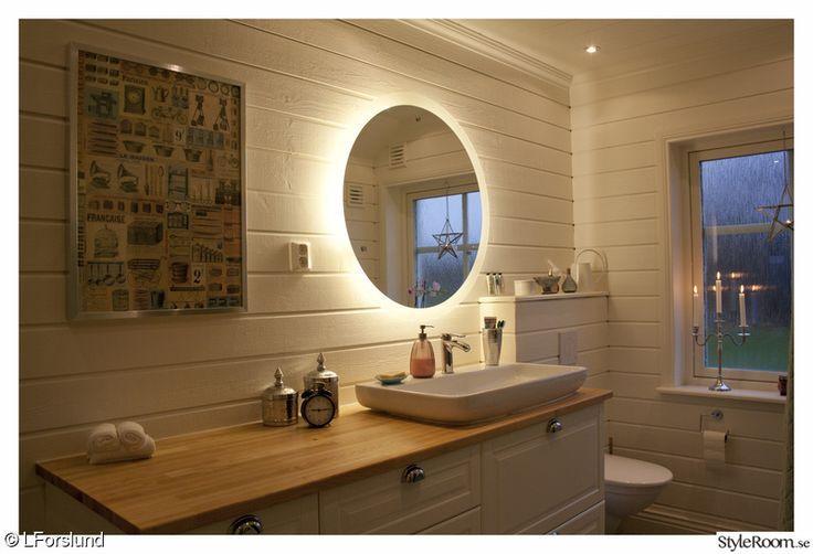 Idéer för badrumsspeglar