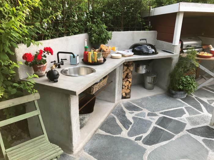 Idéer för bänkskivor utomhus