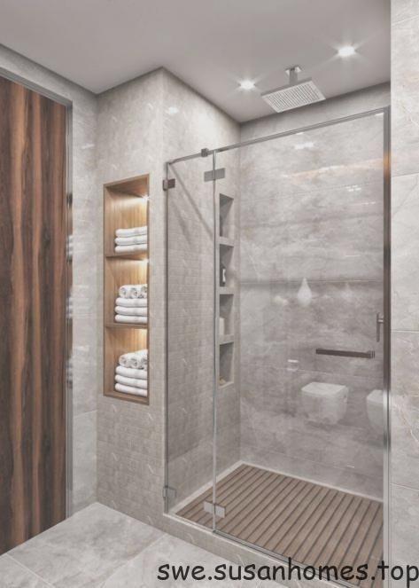 Idéer för dusch på badrummet