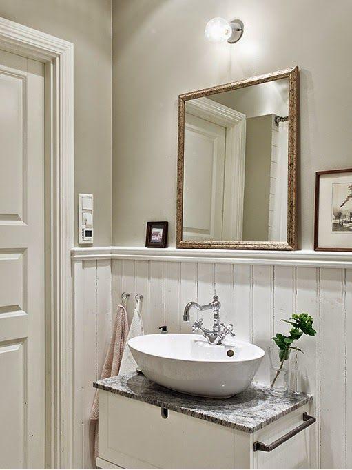 Idéer för fåfänga i badrummet