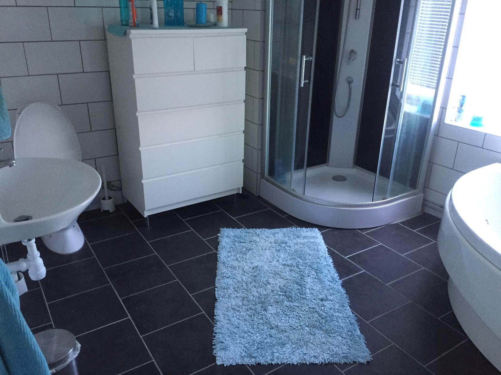 Idéer för golv på badrum