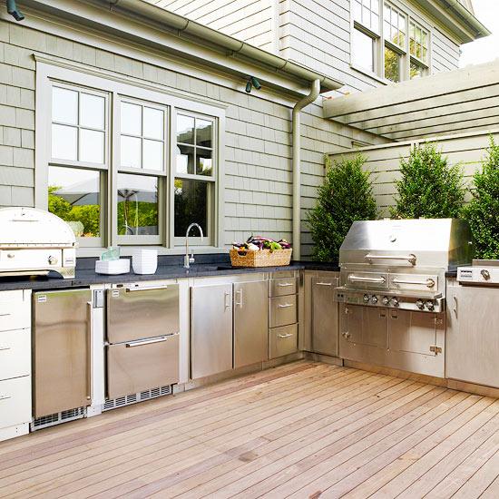 Idéer för köksskåp utomhus