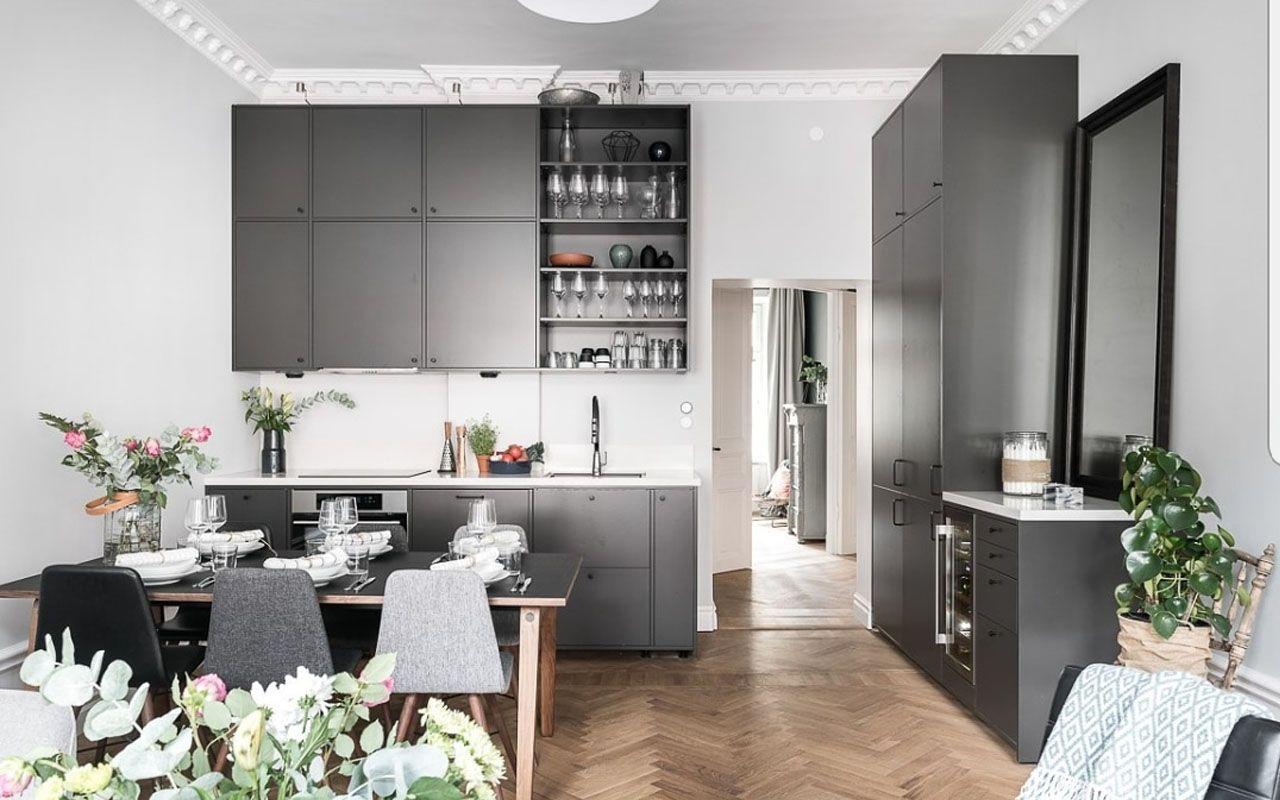 Idéer för köksskåpsdörrar