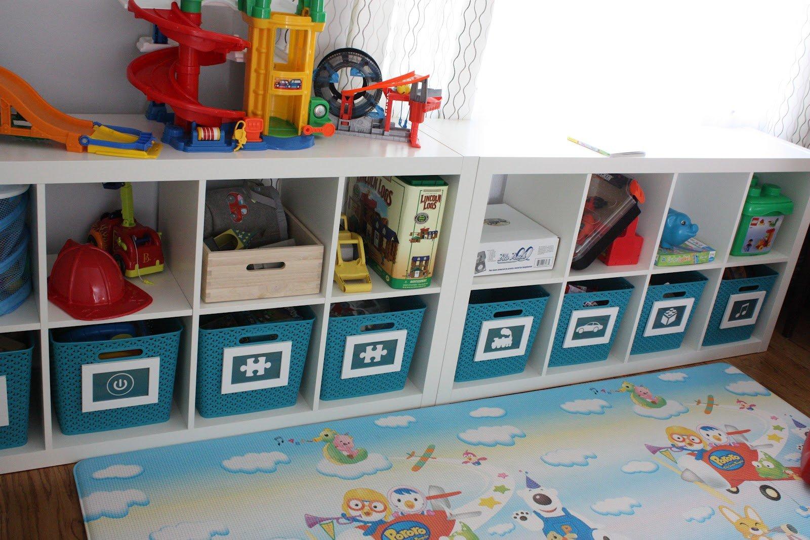 Idéer för lagring av leksaker för att hålla utrymmet snyggt och organiserat