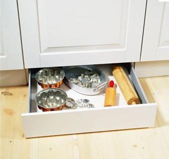 Idéer för organisering av köksskåp