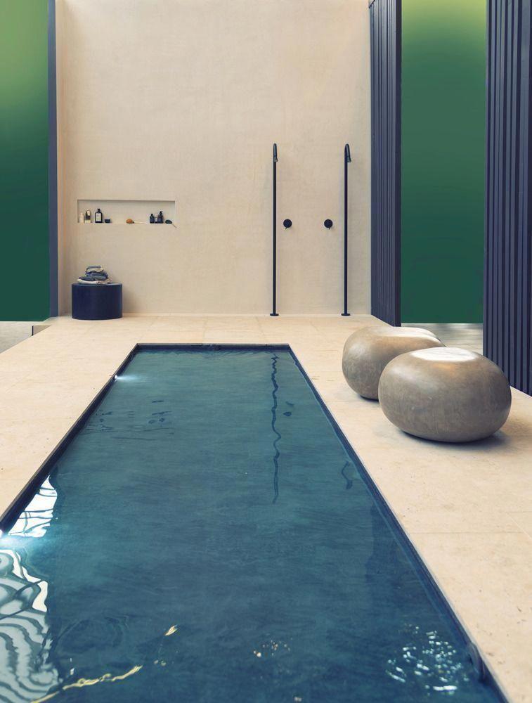 Idéer för poolbadrum