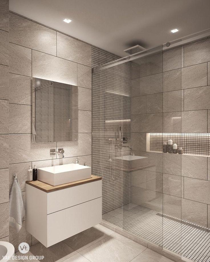 Idéer för samtida badrum