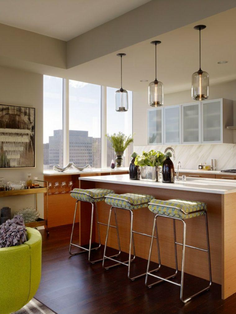 Idéer för samtida kökbelysning
