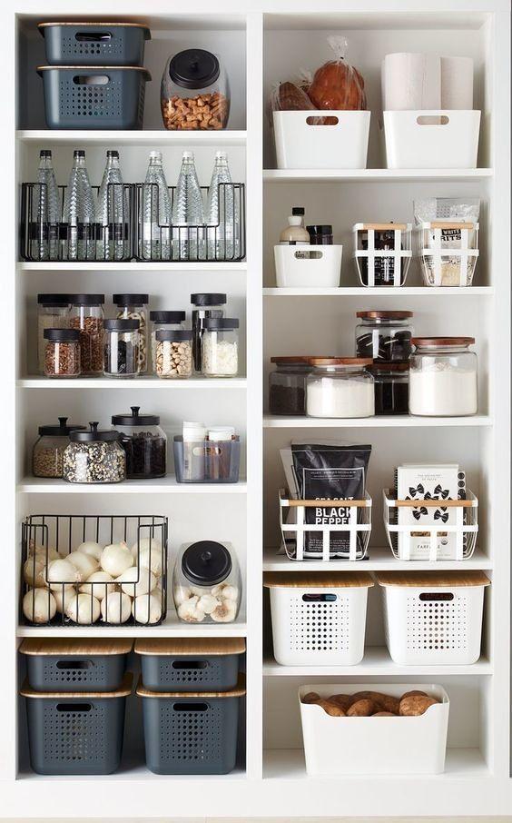 Idéer för skafferi: hyllor och förvaringsidéer för ditt kök