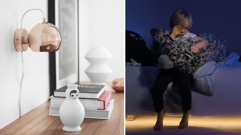 Idéer för sovrumsbelysning