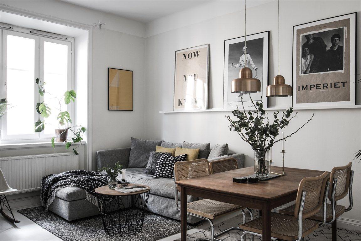Imponerande vardagsrumsdekorationer för ett modernt hem
