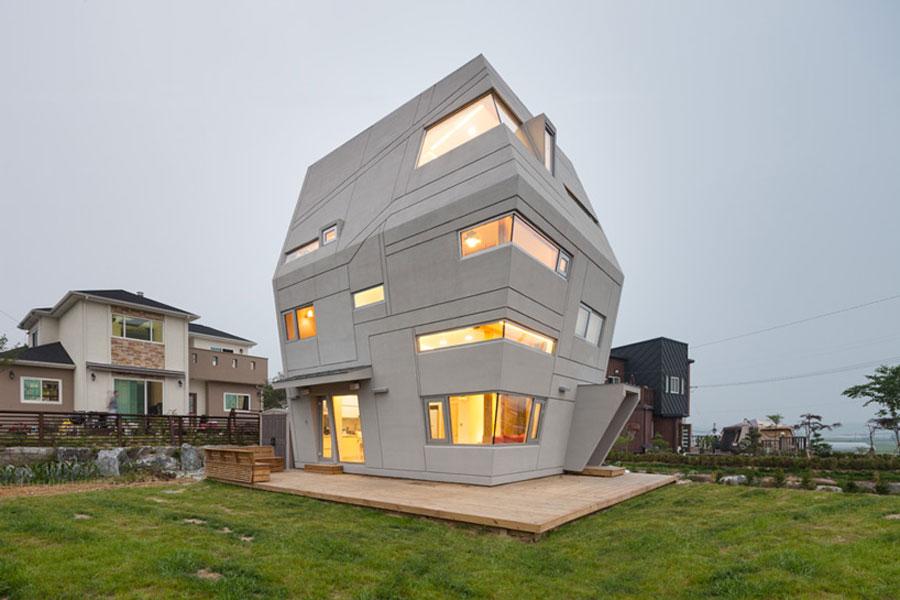 Innovativ husarkitektur inspirerad av Star Wars