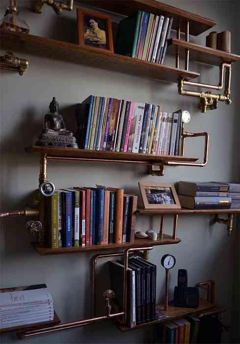 Intressanta flytande bokhyllor som skulle se bra ut på dina väggar